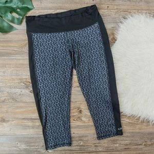 champion slate grey capri leggings